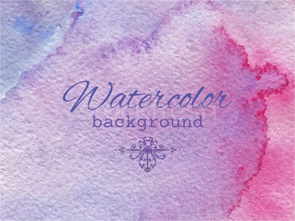 Stock photo: Watercolor abstract background