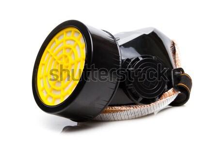 Respirator mask with filter cartridges Stock photo © pxhidalgo