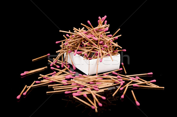 Bunch of red matches Stock photo © pxhidalgo