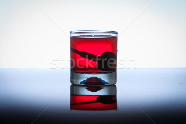 Içme sürücü araba anahtarları alkol yol bira Stok fotoğraf © pxhidalgo