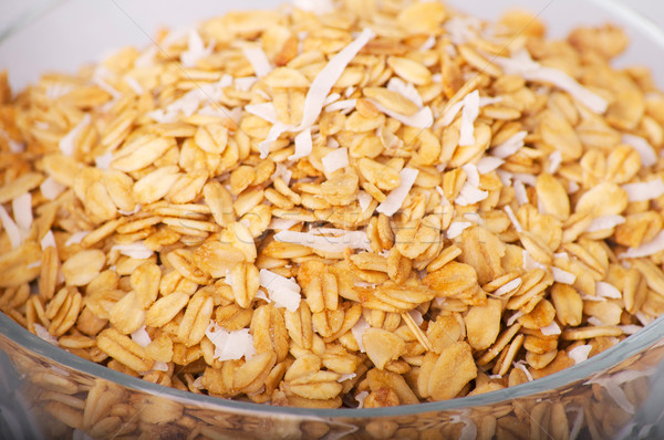 bowl of oats - healthy eating Stock photo © pxhidalgo