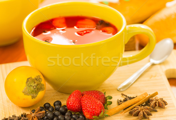 Yemek tava geleneksel cam tatlı mor Stok fotoğraf © pxhidalgo