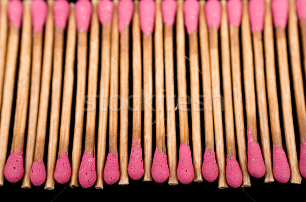 Close-up of a red matches Stock photo © pxhidalgo