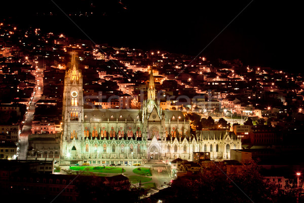 The Basilica church, Quito, Ecuador. Stock photo © pxhidalgo