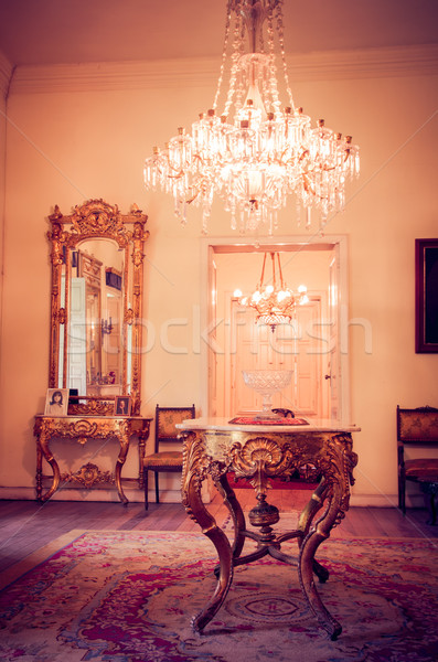 Luxury Victorian Styled Interior Stock photo © pxhidalgo