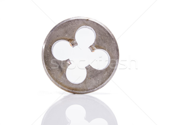 thread cutting die used to carve water pipes Stock photo © pxhidalgo
