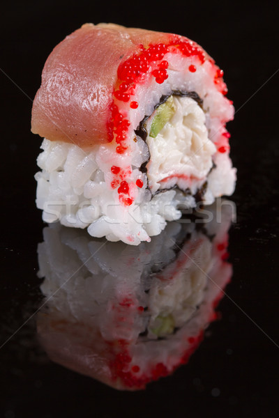 Japon mutfak restoran sushi dizayn bar Stok fotoğraf © pxhidalgo