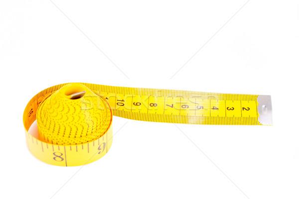 Measuring tape isolated on white background Stock photo © pxhidalgo