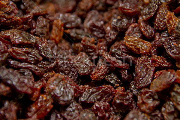 black raisins Stock photo © pxhidalgo