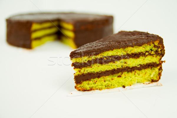 Chocolate Cake Stock photo © pxhidalgo