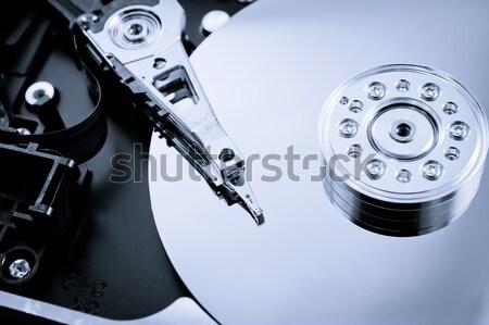 Informations disque dur affaires ordinateur bureau Photo stock © pxhidalgo