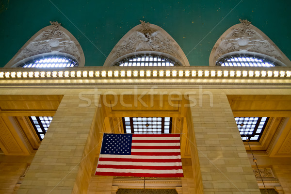 Photo stock: Central · gare · ny · pavillon · affaires · bâtiment