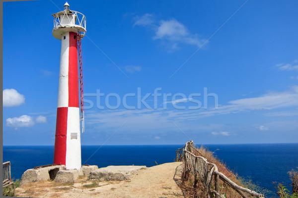 Lighthouse at Manta Ecuador Stock photo © pxhidalgo