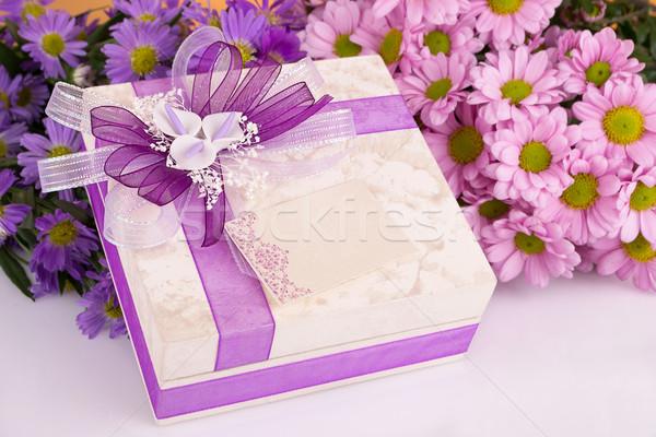 Dom mães flor fundo mãe cartão Foto stock © pxhidalgo