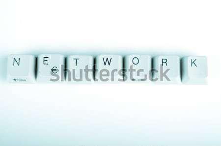 Stock fotó: Szó · írott · számítógép · gombok · üzlet · internet