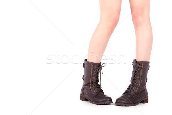 Female Boots Stock photo © pxhidalgo