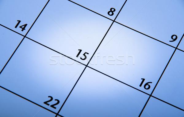 青 カレンダー オフィス 背景 ストックフォト © pxhidalgo