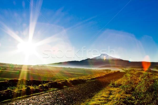 Sunrise in Heaven, Ecuador Stock photo © pxhidalgo