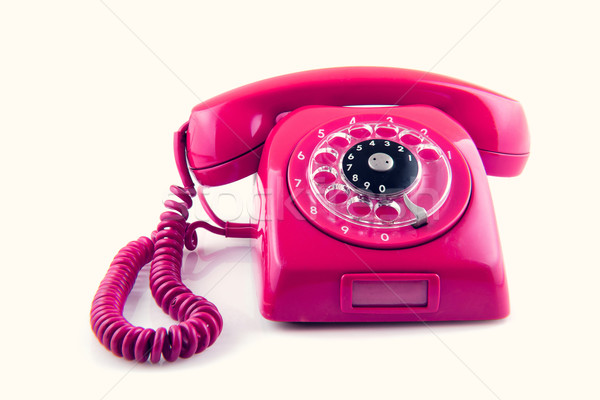 old telephone with rotary dial Stock photo © pxhidalgo