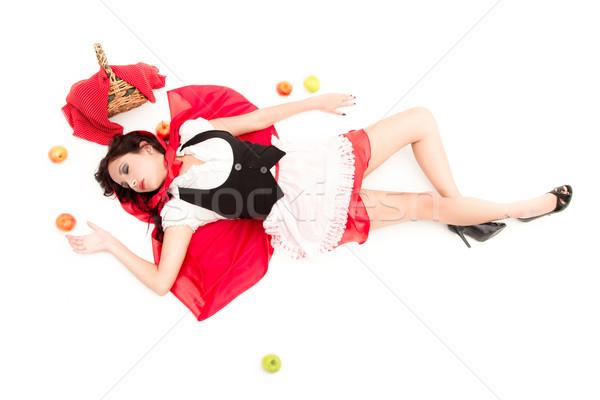 Dead Little Red Riding Hood Stock photo © pxhidalgo