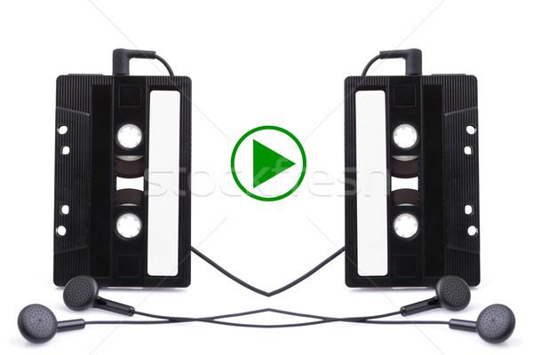 Audio cassete. music, sign Stock photo © pxhidalgo