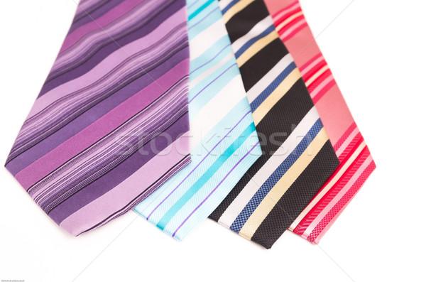 Foto mode mannen weefsel winkel shirt Stockfoto © pxhidalgo