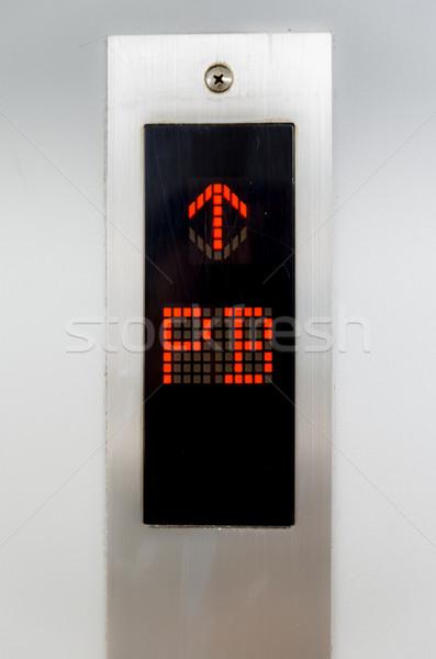 Elevator Button PB Stock photo © pxhidalgo