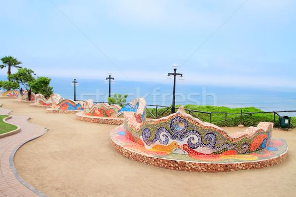 El Parque del Amor, in Miraflores, Lima, Peru Stock photo © pxhidalgo