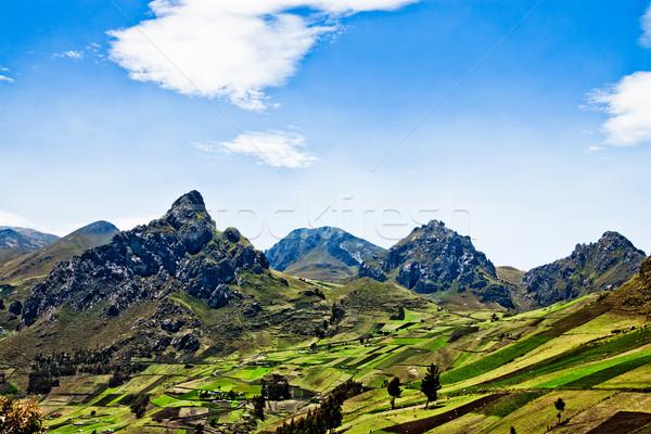 Views  through the Andes Ecuador, South America Stock photo © pxhidalgo