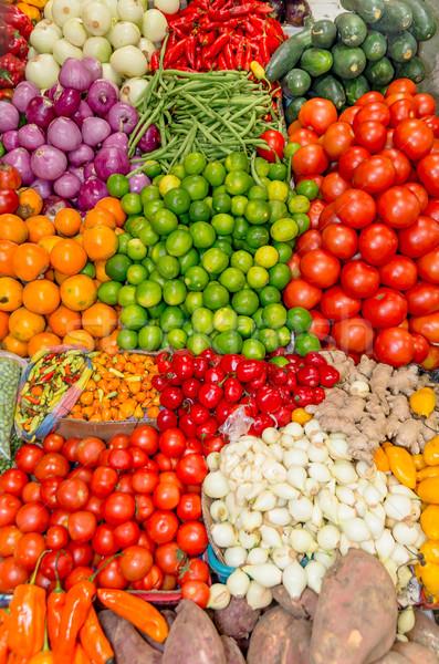 Fresh and organic vegetables at farmers market Stock photo © pxhidalgo