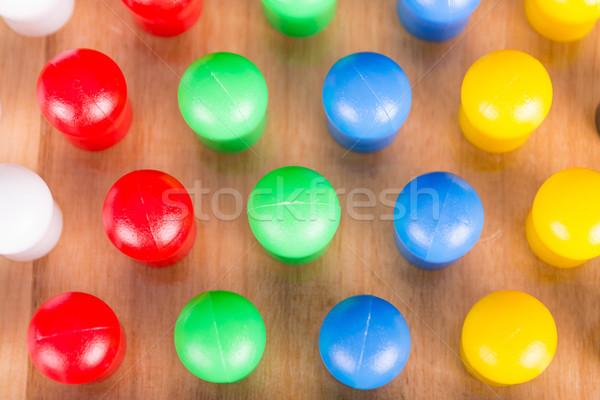 chinese wooden board game Stock photo © pxhidalgo