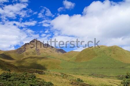 'Fuya Fuya' Volcano and the highlands of Ecuador Stock photo © pxhidalgo