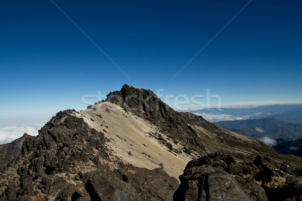 Slopes of the Pichincha in Ecuador in the Andes Stock photo © pxhidalgo