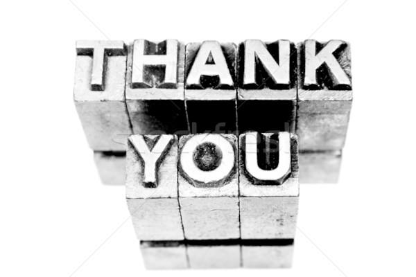 Thank you sign Stock photo © pxhidalgo