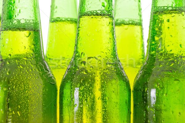 Cerveja garrafas luz gelo garrafa Foto stock © pxhidalgo