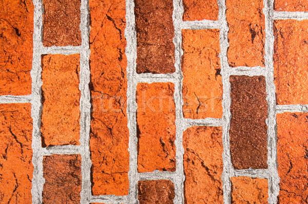 Background of brick wall texture Stock photo © pxhidalgo