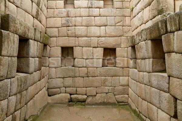 Heilig deuropening verloren stad Machu Picchu Peru Stockfoto © pxhidalgo