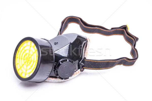 Maszk szűrő lövés fehér szem absztrakt Stock fotó © pxhidalgo