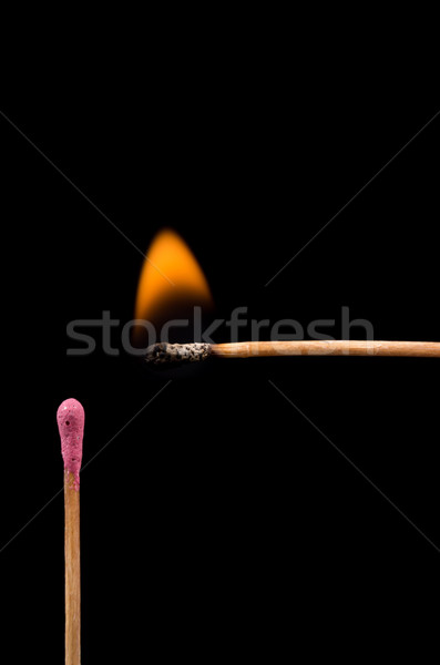 Match lighting Stock photo © pxhidalgo