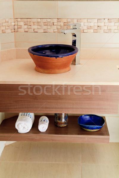 interior of vintage bathroom Stock photo © pxhidalgo