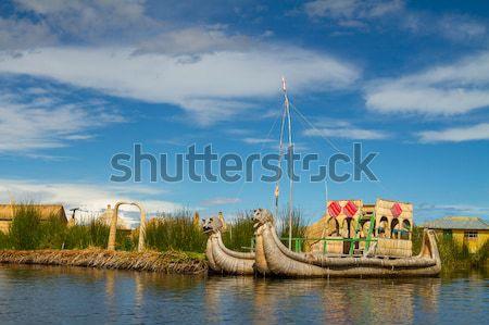 Lake Titicaca Puno Peru South America Stock photo © pxhidalgo