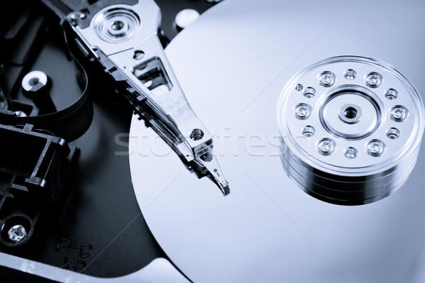Festplatte Laufwerk innerhalb isoliert Stock foto © pxhidalgo