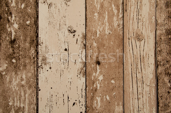 brown color wood plank texture, background Stock photo © pxhidalgo