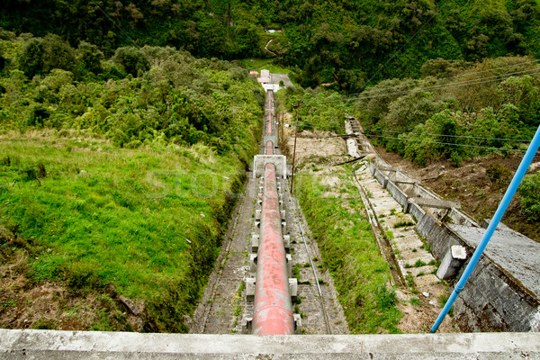 水 工場 電源 エネルギー 古い 発電所 ストックフォト © pxhidalgo