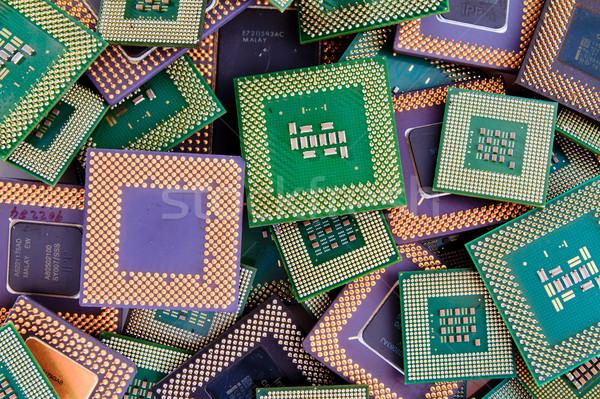 Modern CPU background processor logos removed Stock photo © pxhidalgo