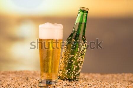 beer set Stock photo © pxhidalgo