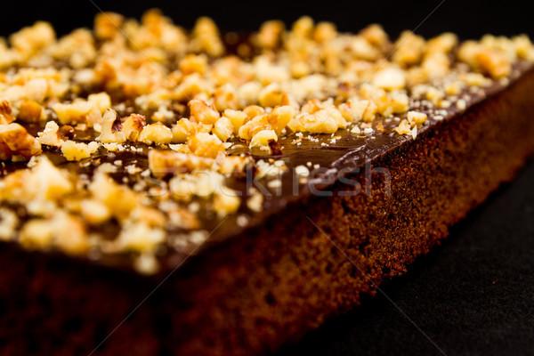 Chocolate Nut Brownies Stock photo © pxhidalgo