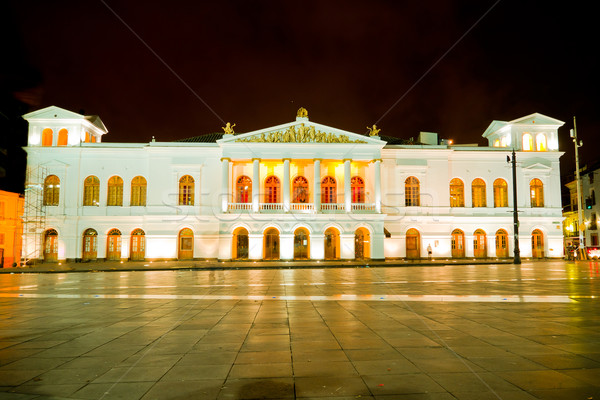 Sucre Theater is located  Quito, Ecuador. Stock photo © pxhidalgo