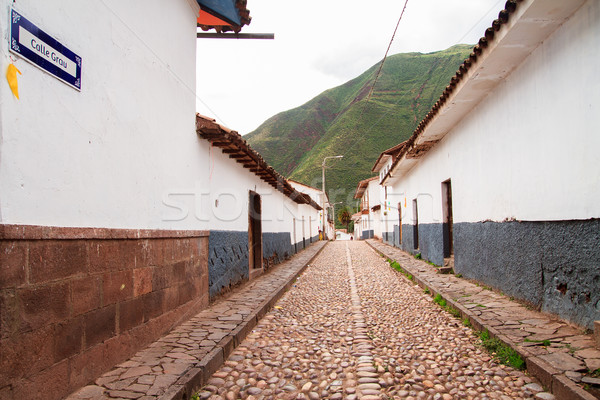 Peru, Pisac (Pisaq) in the Peruvian Andes. Stock photo © pxhidalgo