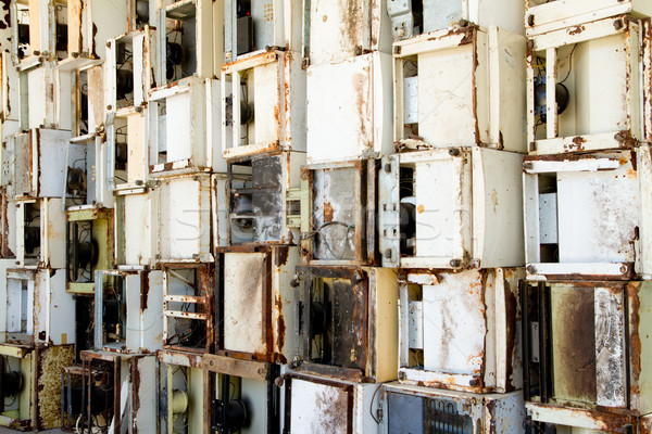 Stock fotó: újrahasznosítás · növény · újrahasznosít · számítógép · víz · újság